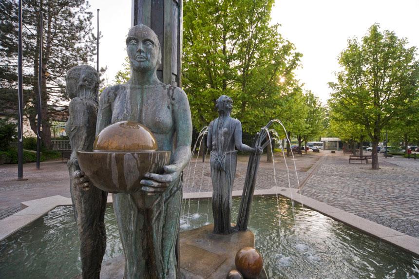 Der Jahreszeitenbrunnen
