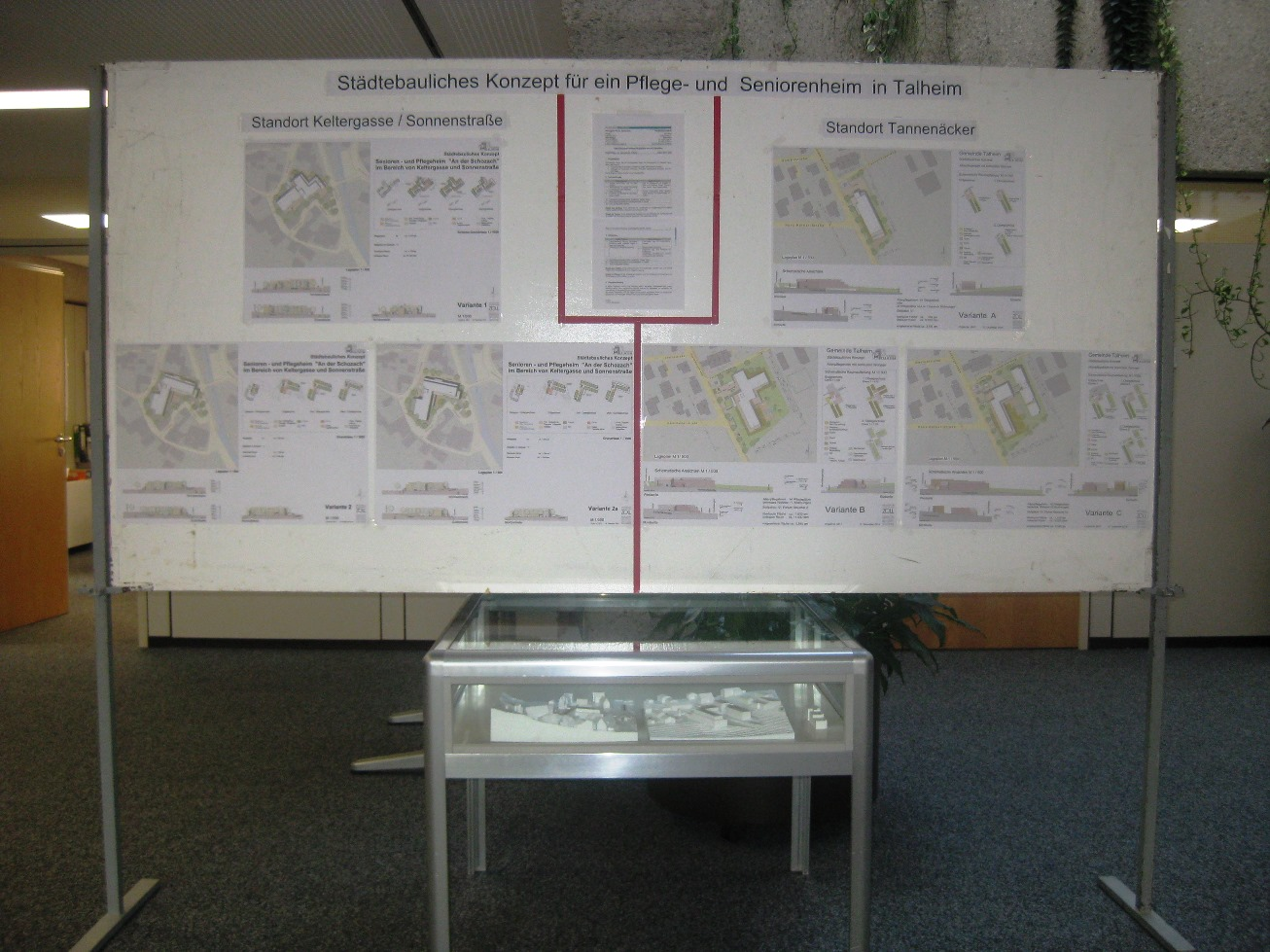 Ausstellung Foyer