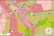 Plan des Burgweg