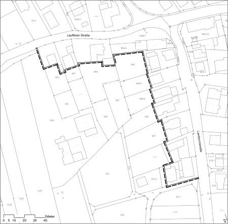 Planzeichnung Lauffener- und Landturmstraße