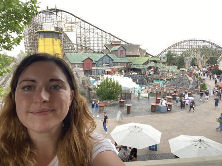 Selfie im Europapark