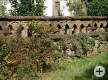 Balustraden im Schlosspark